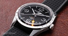 BELL&ROSS Vintage BR123 GMT 24H Automatic / Ref.VINTAGE BR123GMT-R