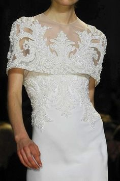 View all the detailed photos of the Elie Saab haute couture spring 2013 showing at Paris fashion week. Read the article to see the full gallery. Elie Saab Couture, Couture Mode, Couture Fashion, Couture Style, Couture Details, Fashion Details, Love Fashion, Fashion Show, Fashion Spring