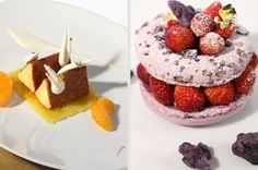 Sharing recipes from around the web! If you see a photo that belongs to you that you do not want shared, send me a message and I'll take it down. Philippe Starck, Le Meurice, Cute Desserts, Yummy Treats, Raspberry, Cheesecake, Pudding, Tasty, Fruit