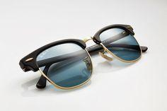 1cd2f360dc RayBan Clubmaster navy glasses #rayban Gafas De Sol Ray Ban, Lentes, Te  Quiero