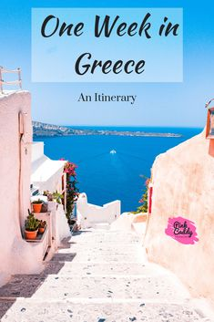 Don't go to Greece without these essentials. Whether you're headed on a beach vacation or an adrenaline packed trip, this Greece packing list has you covered. From Athens to Mykonos, you'll be prepared for the perfect Greece vacation after this packing ch Europe Travel Tips, European Travel, Places To Travel, Travel Destinations, Travel Goals, Greece Destinations, Travel Guides, Travel Hacks, Travel Advice