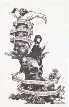 Death, from The Sandman