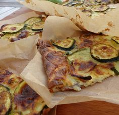 Zucchini Scarpaccia with Parmesan - Philandcocuisine - Cuisine - Healthy Recipes Easy Healthy Meals For Kids, Healthy Meal Prep, Easy Healthy Recipes, Healthy Snacks, Vegetarian Recipes, Easy Meals, Pasta, The Best, Breakfast Recipes