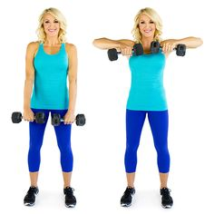 Toned arm exercise