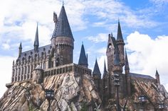 Wallpaper United States, Orlando, The Wizarding World World Wallpaper, City Wallpaper, Harry Potter Diagon Alley, Time Lapse Photography, New York Central, High Rise Building, Aerial View, Barcelona Cathedral, Hogwarts