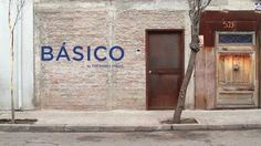 BÁSICO by The Andes House. Love this.