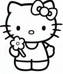 Hasil Gambar Untuk Coloring Hello Kitty Pictures Hello Kitty Colouring Pages Hello Kitty Drawing Hello Kitty Printables