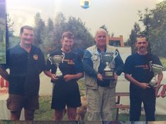 18 Years Ago... Abbey Lakes with Rob Hughes, Darren Milsom and Badger Stockton during a military fishing competition, we won and were kindly sponsored by Starmer Baits