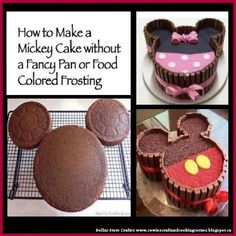 DIY And Household Tips: Mickey And Minnie Mouse Kit Kat Cake cupcakes anniversaire decoration licorne noël recette recipes cupcakes Minni Mouse Cake, Bolo Do Mickey Mouse, Mickey Cakes, Minnie Mouse Cupcake Cake, Minnie Mouse Birthday Cakes, Disney Mickey, Mickey Mouse Desserts, Minie Mouse Party, Mickey And Minnie Cake