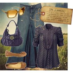 spring stroll, created by mamajess on Polyvore
