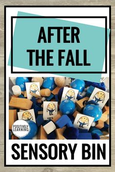 After the Fall by Dan Santat is a terrific book reinforcing the concept of growth mindset. Explore story vocabulary, sight words, and more literacy tasks with these sensory bin activities based on the read aloud. #afterthefall #sensorybin #growthmindsetactivities