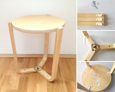 Frosta goes Beistelltisch Ikea Hack Frosta, Ikea Hacks, Painted Stools, Ikea Chair, Farmhouse Table, Living Room Chairs, Decoration, Diys, Diy And Crafts