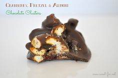 Sweet Fix: Cranberry, Pretzel & Almond Chocolate Clusters