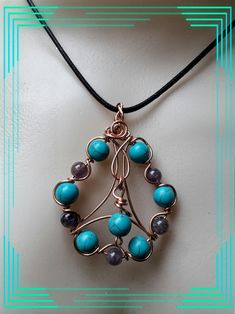 Items similar to Tutorial - Celtic Water Drop Pendant - fine wire work on Etsy List Of Tools, Circle Of Life, Water Drops, Wire Work, Copper Jewelry, Fern, Celtic, Handmade Items, Beaded Necklace