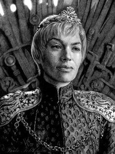 Queen Cersei by slightlymadart