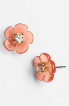 Tory Burch 'Flora' Stud Earrings available at Nordstrom