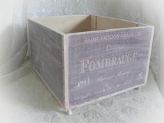 Kisten & Boxen - Weinkiste herrlich Shabby-Chic - ein Designerstück von Dragonflys-Home bei DaWanda
