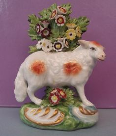 Antique Victorian French Samson Porcelain Sheep Ewe Figure Circa 1850s ~2 in Pottery, Porcelain & Glass, Date-Lined Ceramics, c.1840- c.1900 | eBay