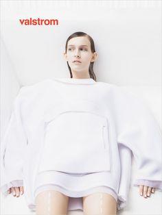 Julia Fuchs for Valstrom Magazine by Lauretta Suter