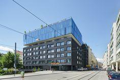 25hours Hotel Vienna  / BWM Architekten