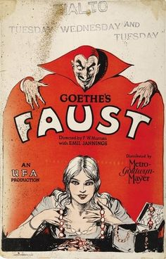 Faust (1926)   #Goethe #Cinema #Movie #Spirituality #German #Devil
