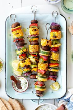 Learn how to make the best grilled vegetables! Serve them as a simple, flavor-packed cookout side, or top them with a yummy sauce and make them a meal on their own. | Love and Lemons #grillingrecipes #sidedish #vegan #vegetarian Best Grill Recipes, Best Zucchini Recipes, Kabob Recipes, Grilling Recipes, Grilling Ideas, Vegan Recipes, Free Recipes, Salad Recipes, Barbecue Recipes