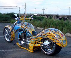 honda vtx1300r chopper | lone wolf custom cycles - bikerMetric