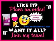 JOIN MY TEAM! Paid weekly  monthly, Be Your Own Boss, Work From Home!  PLEXUS IS THE KEY to health  wealth! Plexus Slim is simple! Pour, shake, drink! Burns fat, not muscle. http://www.vikkiyoung.myplexusproducts.com/