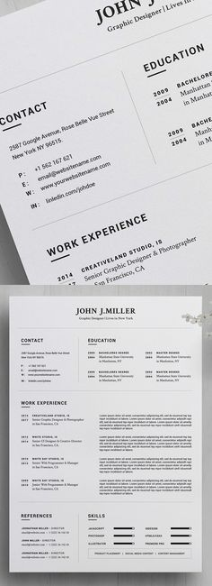 25 Fresh Free Professional Resume Templates - 12 diseño