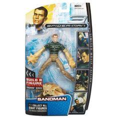 Marvel Legends Spider-Man Movie Action Figure Sandman