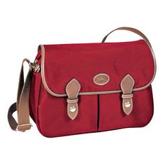 7e55be19f869 Longchamp Le Pliage Messenger Red Handbags On Sale