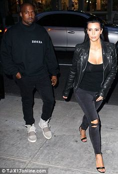 Look, no waiting: Kim and Kanye strolled up to the door of Cipriani and were ushered strai...