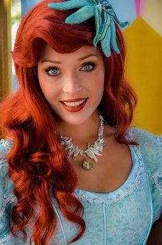 Character: Ariel / From: Walt Disney Animation Studios 'The Little Mermaid' / Cosplayer: Unknown Disney Nerd, Disney Girls, Walt Disney World, Disney Pixar, Ariel Disney, Disney Animation, Disney Dream, Disney Love, Disney Magic