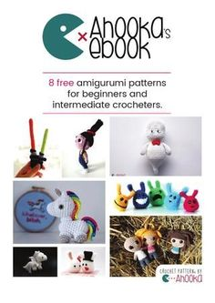 Ahookas ebook 8 free amigurumi patterns