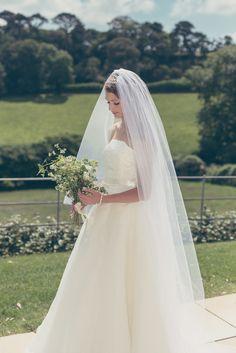 Timeless wedding dress Christine Trewinnard.