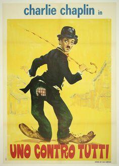 CHARLOT CAMBIA DE OFICIO (1915)