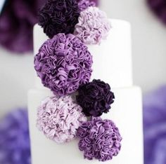 how to make fondant pom poms