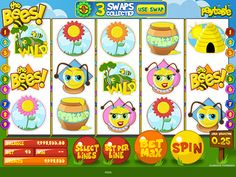 The Bees is a great slots machine that you can play for real money online.