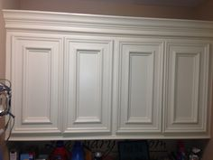My personal laundry room cabinets