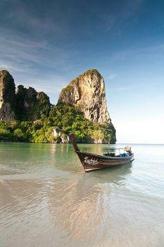 Krabi, Thailand  // Join Pravassa & Yoga Center in Thailand Nov 5-16:  http://pravassawellnesstravel.com/thailand-nov14/overview #yoga #travel #wellnesstravel