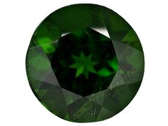 Russian Chrome Diopside Minimum 3.25ct 10mm Round
