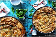 Točená Banica se špenátem Bulgarian Food, Bulgarian Recipes, Paella, Baking, Ethnic Recipes, Bakken, Backen, Sweets, Pastries
