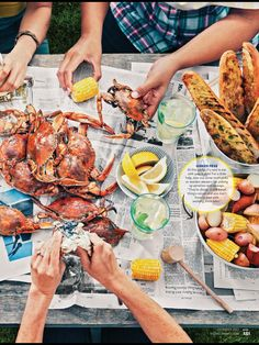 Image result for vintage seafood boil