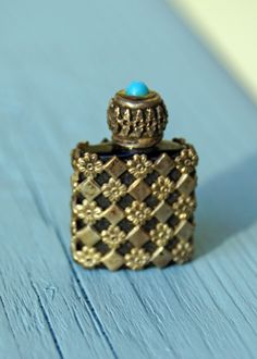 Vintage Perfume Bottle From France. $16.00, via Etsy.