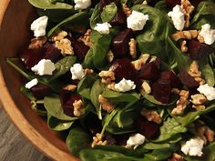 Roasted Beet Salad with Walnuts and Goat Cheese Recipe : Nancy Fuller : Food Network