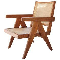 Easy Chair de Pierre Jeanneret http://www.vogue.fr/mode/shopping/diaporama/la-liste-de-cadeaux-de-noel-de-suzanne-koller/24463#easy-chair-de-pierre-jeanneret