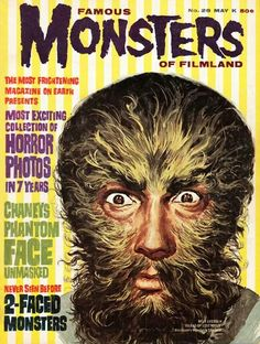 """FAMOUS MONSTERS MAGAZINE"" (1960)"