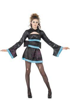 Teen Spider Geisha Costume | Jokers Masquerade