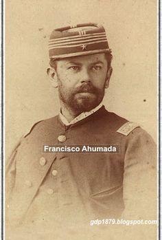 Francisco Solano Ahumada Darrigrandi, ingresó como subteniente de la cuarta compañía del segundo Batallón del Regimiento 4° de Línea en abril de 1879. Participó en Pisagua, San Francisco, Tacna, Arica y la expedición de Estanislao Del Canto.