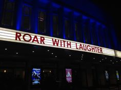 Sean Lock, Ed Byrne and Stewart Lee make us Roar with Laughter at the Hammersmith Apollo.